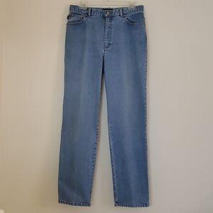 Ralph Lauren High Rise Blue Jeans - 10